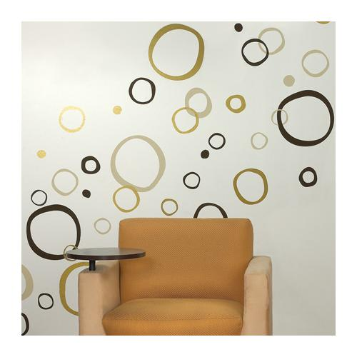 Brodart Circles Vinyl Wall Art