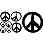 Image of Brodart Peace Signs Vinyl Wall Art